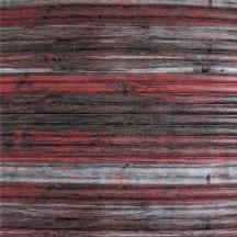 Самоклеющаяся 3D панель под бамбук красно-серая 700x700x8мм