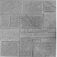 Самоклеющаяся 3D панель под серый камень 700x700x8мм