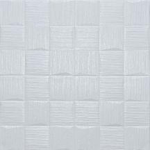 Самоклеющаяся 3D панель под белые рваные кубики 700x700x5мм