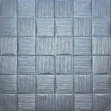 Самоклеющаяся 3D панель под серые рваные кубики 700x700x5мм