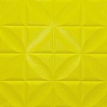 Самоклеющаяся 3D панель лимонная ромашка 700x700x8мм