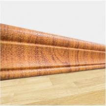 Самоклеющийся гибкий золотой дуб плинтус 240х8 см