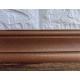 Самоклеющийся коричневый плинтус для стен