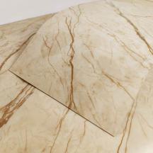 Самоклеящаяся виниловая плитка благородный мрамор 600*300*1,5мм, цена за 1м2 (СВП-101-глянец)