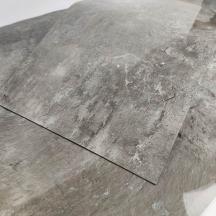 Cамоклеющаяся виниловая плитка серебристый мрамор 600*300*1,5мм, цена за 1м2 (СВП-103-глянец)