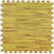 Пол пазл - модульное напольное покрытие золотое дерево  600x600x10мм