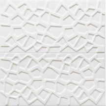 Самоклеющаяся 3D панель белая паутинка 700x700x5мм