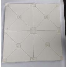 Самоклеющаяся 3D панель белая пирамида 700x700x5мм